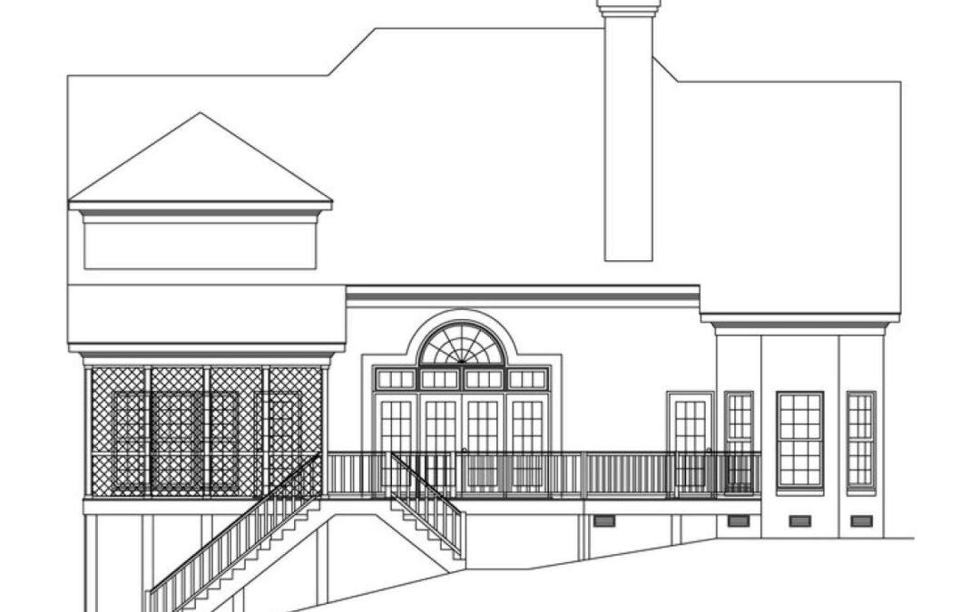 Architect Blue Print Tennessee 20748-1200